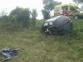 Tragická nehoda pri Štiavnických Baniach: FOTO z miesta nešťastia, vodič zahynul