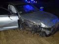 FOTO Šialenec (25) na cestách v Trenčíne: Jazdil opitý v čase zákazu a spôsobil nehodu