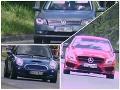 FOTO cestných pirátov, ktorí si bratislavské cesty pomýlili s okruhom F1: Pokutám však neunikli