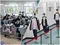 Čínsky Wu-chan po mesiacoch opäť otvoril školy: Prísne opatrenia na FOTO, čaká aj našich žiakov podobné sci-fi?