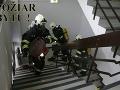 V obci Sklabiná došlo k požiaru bytu: Obrovský oheň zasiahol aj strešnú konštrukciu