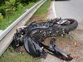 FOTO Na cestách v okolí Košíc utrpeli ťažké zranenia motocyklista aj cyklista
