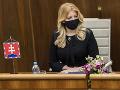 Prezidentka vystúpi v parlamente o stave republiky: Poslancov čaká aj rokovanie o úprave voľby GP