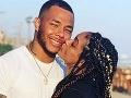 Gregory Tyree Boyce s partnerkou Natalie Adepoju