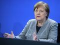Lídri V4 diskutovali s nemeckou kancelárkou, hlavnou témou bola obnova ekonomiky EÚ