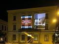 Obyvatelia Brna neverili vlastným očiam: FOTO Na jednej z mestských budov premietali porno!