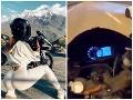 VIDEO Šialená jazda sexi motorkárky: Stáli pri nej všetci svätí, odniesla si to jej pýcha!