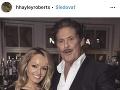 Hayley Roberts a David Hasselhoff