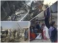 Pri páde lietadla v Pakistane zahynulo 97 ľudí, dvaja prežili, tvrdia úrady