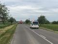 FOTO Medzi Pavlovcami a Bottovom došlo k vážnej nehode: Na mieste zasahoval vrtuľník