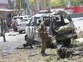 Samovražedný útok v Somálsku: