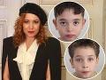 Wisterová (43) v USA opäť s unesenými synmi: Drsné pravidlá návštevy!