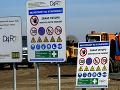 PRÁVE TERAZ Policajný zásah v súvislosti s kontroverznou výstavbou D4 a R7