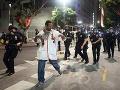 Protesty s Los Angeles