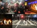 Ďalšia pekelná noc v USA! Drsné protesty napriek zákazu vychádzania: Streľba do davu, jeden mŕtvy