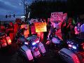 Protesty v Las Vegas