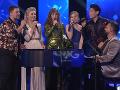 TOP 5-ka finalistov si s Mariánom Čekovským zaspievala piesne Paľa Haberu