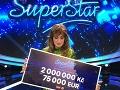 Barbora Piešová vyhrala Superstar a získala aj slušný balík peňazí.