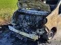 VIDEO Hasiči mali plné ruky práce: Za Želiezovcami zasahovali pri požiari dodávky