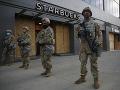Trump hrozí, že proti protestujúcim nasadí armádu: FOTO New York vyhlásil zákaz nočného vychádzania