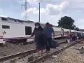 VIDEO Tragická zrážka vlaku