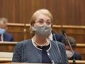 Záborská nechce ísť v kontexte potratov poľskou cestou: Nicholsonová varuje pred opačným efektom