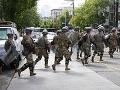 KORONAVÍRUS Vojaci Národnej gardy z Washingtonu mali pozitívny test