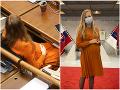 Budúca mamička v parlamente: FOTO Marcinková tehotenstvo vôbec neskrýva, o pár mesiacov to príde