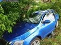 FOTO Tragédia pri Novom Meste nad Váhom: Pri zrážke dvoch áut zahynul muž (†55)