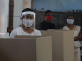 KORONAVÍRUS Cvičné voľby na Srí Lanke preverili hygienické opatrenia pred riadnym hlasovaním