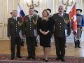 Čaputová vymenovala nových generálov: Ocenila aj úlohu vojakov v čase pandémie