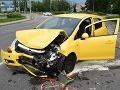 FOTO Išiel do práce, nafúkal 3 promile a spôsobil nehodu: Vodič vraj nečakal, že toľko nafúka