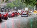 Silné dažde v Maďarsku: Počasie spôsobilo problémy najmä v Budapešti a v Debrecíne
