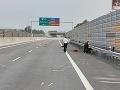 FOTO Tragická nehoda na diaľnici D1: Motocyklista (†38) nemal šancu prežiť