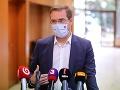 Investičný dlh slovenských nemocníc je vo výške 1,5 miliardy eur, tvrdí Krajčí