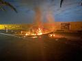 Napätie v Iraku neutícha: Zelenú zónu v Bagdade zasiahli rakety