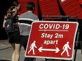 KORONAVÍRUS Nákaze v Británii podľahlo ďalších 186 ľudí