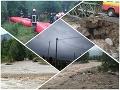 Skaza po prívalových dažďoch je obrovská: FOTO Pichne prosia o pomoc, vyčíňanie počasia ešte neutíchlo