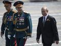 FOTO Hrdinstvo veteránov je dedičstvom celého ľudstva, povedal Putin na vojenskej prehliadke