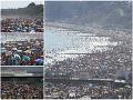 KORONAVÍRUS Ľudia sa zbláznili: Prvé horúčavy vytiahli davy ľudí na pláže a bez rúšok, šialené zábery!