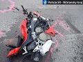 Tragická nehoda v Topoľčanoch, o život prišiel 41-ročný motocyklista