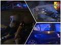 Drsné VIDEO z policajnej naháňačky: Mladík (19) vrazil do steny, nehorázne, čo skúšal na policajtov