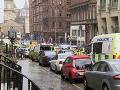 FOTO Krvavý masaker v Glasgowe: V centre pobodali viacero ľudí vrátane policajta, útočník je mŕtvy