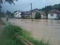 FOTO Katastrofálna situácia na Liptove: Zasiahli ho prívalové dažde, jedna obec skončila pod vodou!