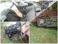 Hrôzostrašná nehoda v Kremnici: Ožratý vodič (30) viezol v aute troch ľudí! FOTO z miesta