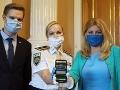 Viceprezidetka polície navštívila prezidentku: Diskutovali o pomoci obetiam domáceho násilia