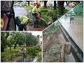 Búrky na strednom a východnom Slovensku strhávali strechy a lámali stromy: FOTO spúšte