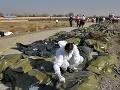 Pád ukrajinského lietadla v Iráne: Krajina prezradila možný dôvod zostrelenia