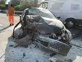 Tragická dopravná nehoda na R1: FOTO Cestu uzavreli v oboch smeroch, zahynula jedna osoba
