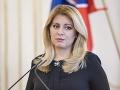 Prezidentka sa vyjadrila ku kauze Kollárovej diplomovky: Táto situácia nemusí mať víťazov a porazených